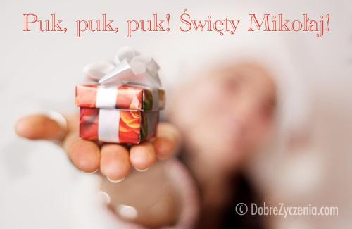 Puk, puk... Święty Mikołaj
