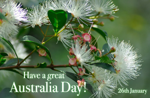 26 Styczeń: Have a Great Australia Day!