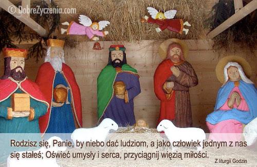 Jezus malusieńki, leży wśród stajenki...