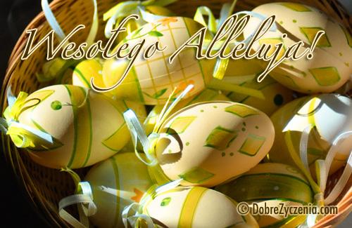 Życzenia Wesołego Alleluja!