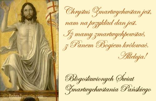 Chrystus żyje, zmartwychwstan jest...